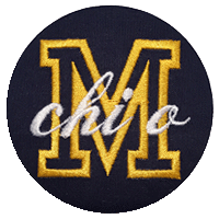 Maize & Blue - Solid Navy M