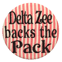 Red, White & Black Wolfpack- Delta Zeta Seersucker