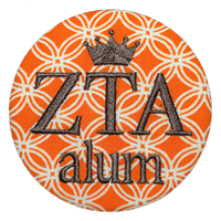Orange & White - ZTA Alum