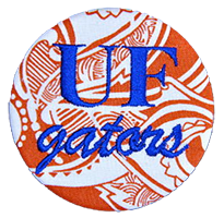 Orange & Blue - Paisley Gators