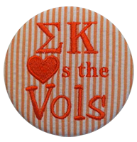 Orange & White Vols - Orange Seersucker