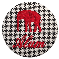Alabama Alum - Houndstooth
