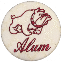Mississippi State - White Pearlescent Alum