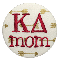 Garnet & Gold - Sorority Mom Arrow