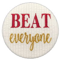 BEAT everyone - Garnet & Gold