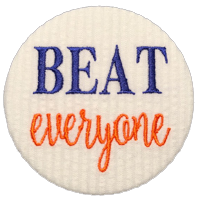 BEAT everyone - Orange & Blue
