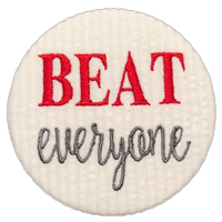 BEAT everyone - Crimson & White