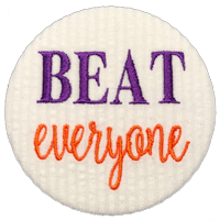 BEAT everyone - Orange & Purple