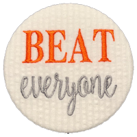 BEAT everyone - Orange & White