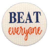 BEAT everyone - Orange & Navy