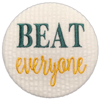 BEAT everyone - Green & Gold