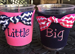 Big/Little Solo Cup Koozie Set