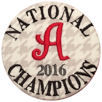 Alabama 2016 National Championship