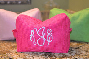 Monogrammed Cosmetic Case