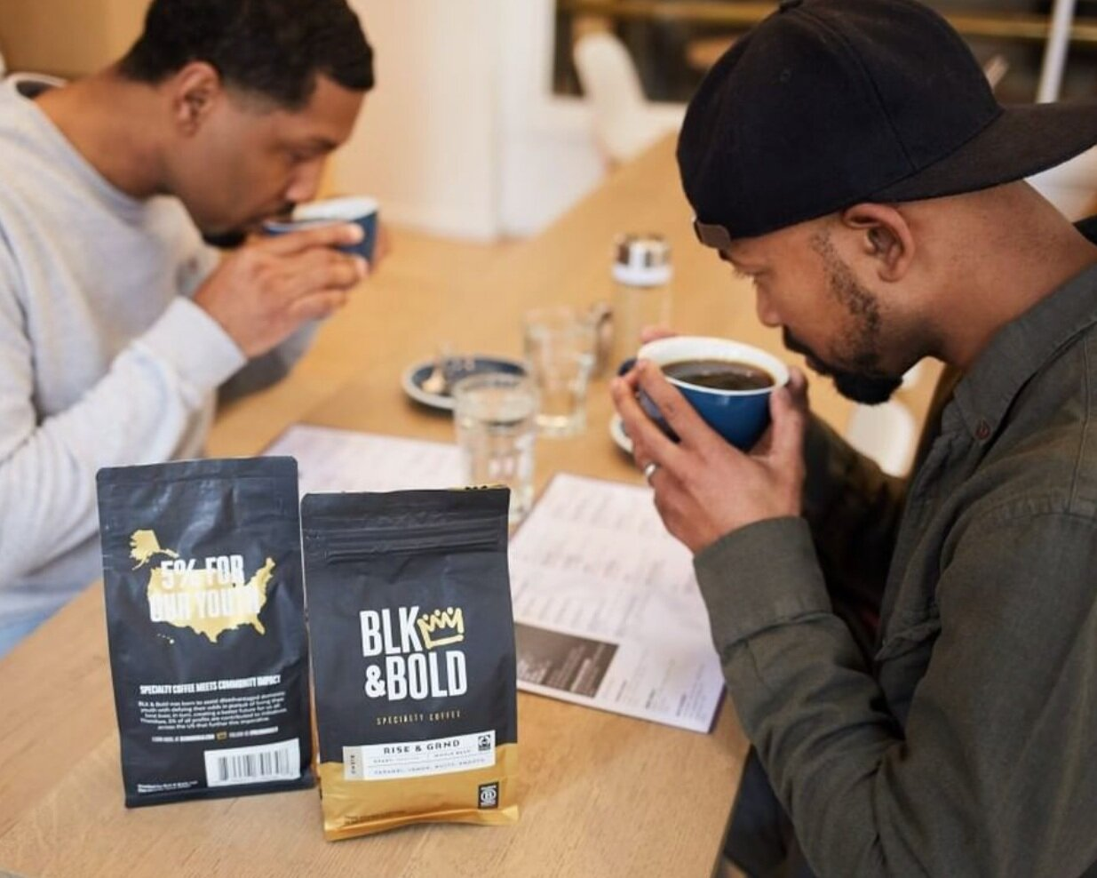 BLK and Bold Founders - Minny and Paul Maker