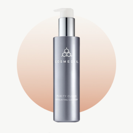CosMedix Purity Clean Exfoliating Cleanser Hailer Bieber's Skincare routine Fresh Beauty Co.