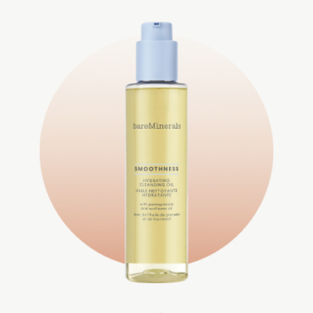 BareMinerals Smoothness Hydrating Cleansing Oil Hailer Bieber's Skincare routine Fresh Beauty Co.