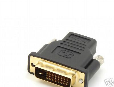 HDMI Female to DVI Male Video Adapter BRAND NEW - Itemsforless
