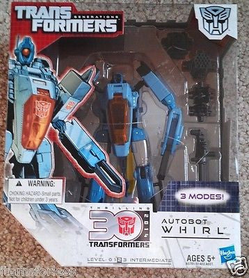 Transformers Generations Thrilling 30 2014 Autobot Whirl Triple Changer NEW - Itemsforless