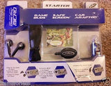 Gamboy Micro Intec Car Adapter Earbuds Safescreen New - Itemsforless