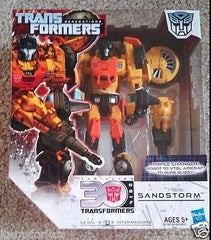 Transformers Generations Thrilling 30 2014 Autobot Sandstorm NEW