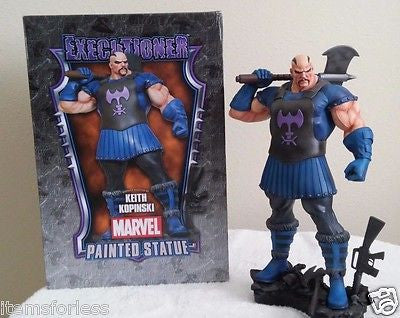 Executioner Skurge Marvel Bowen Statue NEW Thor Amora Enchantress