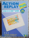Sega Saturn Action Replay Plus Memory Card Codes Auto 1 or 4M Ram NEW 3 in 1 - Itemsforless
