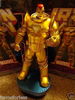 Iron Man Hydro Armor Version Bowen Statue New Mint