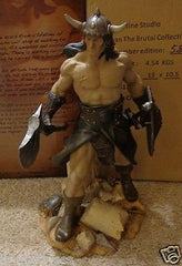 Conan The Brutal Statue Quarantine Studios New - Itemsforless
