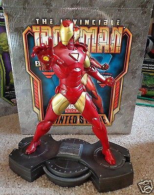 Iron Man Extremis Statue Bowen New