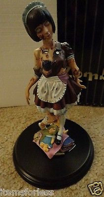 Zombie Girl Maid Statue Kaitendoh Horror Figure Series   Brand New