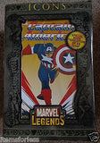 Marvel legends icons Captain America New - Itemsforless