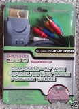 XBOX 360 Gold Plated Component AV Cable with Optical Digital Output Brand New -  ITEMSFORLESS        - 2
