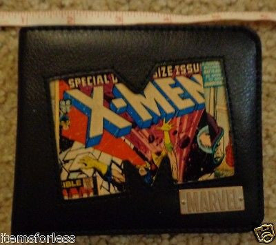 Marvel Comics Wallet Xmen SpiderMan Brand New in Metal Tin