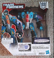 Transformers Generations Thrilling 30 2014 Decepticon DoubleDealer  NEW