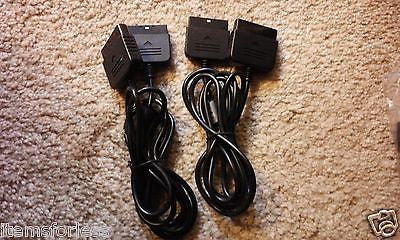 One Playstation 1 or 2 Controller Extension 6ft cable wire.  Brand New - Itemsforless