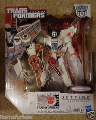 Transformers Generations Thrilling 30 2014 Autobot Jetfire Leader Class NEW
