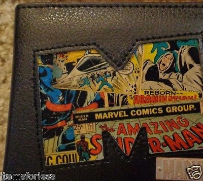 Marvel Comics Wallet Spiderman Hulk Brand New in Metal Tin
