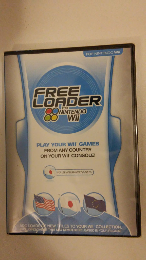 Datel Free Loader Nintendo Wii Japanese Console only Brand New not usa or uk