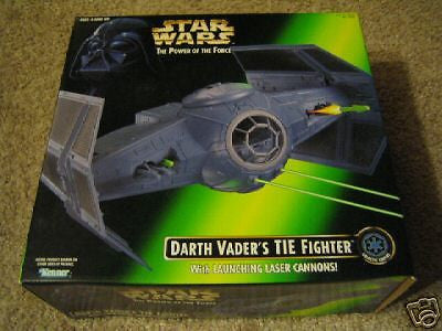 Darth Vader's Tie Fighter New launching laser cannons - Itemsforless