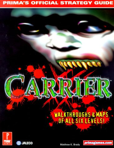 Carrier (Prima's Official Strategy Guide) - Itemsforless