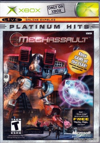 Xbox Mechassault Platinum Hits -  ITEMSFORLESS