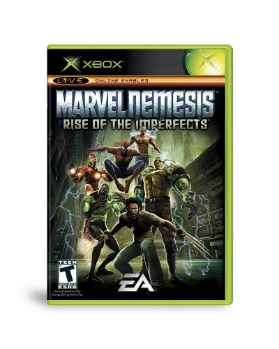Marvel Nemesis Rise of the Imperfects - Xbox