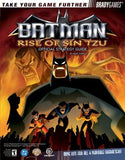 Batman: Rise of Sin Tzu Official Strategy Guide (Brady Games) - Itemsforless