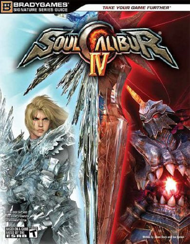 SOULCALIBUR IV Signature Series Fighter's Guide (Bradygames Signature Guides) - Itemsforless
