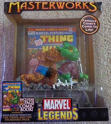 Marvel Masterworks Legends The Thing and The Incredible Hulk NEW