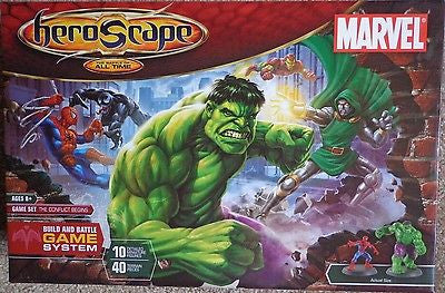 HeroScape The battle for all time Marvel Brand New Sealed Box
