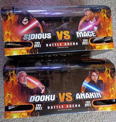 Sidious Vs Mace & Dooku Vs Anakin New Star Wars Revenge of the Sith Battle Arena - Itemsforless