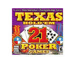 Texas Hold 'Em: 21 Poker Games  (PC 2004) Box - Itemsforless