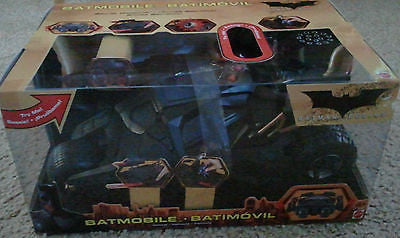 Batman Begins Batmobile Tumbler Truck Car Brand New in Box